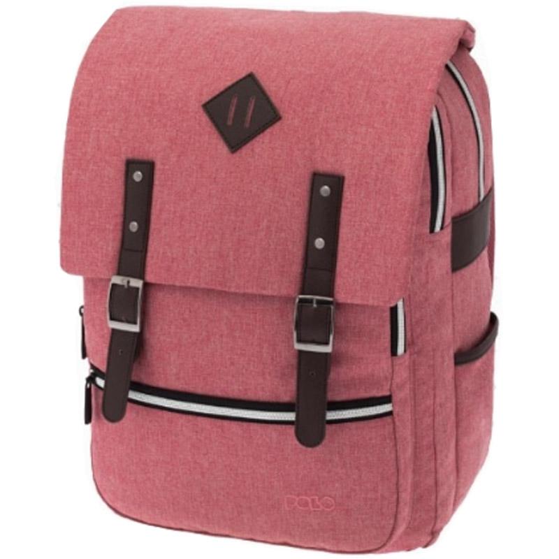 91dfed2484 Τσάντα Polo Groovy Δύο μεγάλες κεντιρκές θήκες η μία με ενίσχυση για  μεταφορά laptop. Μικρότερη θήκη μπροστά με εσωτερικές τσέπες για καλύτερη  οργάνωση.